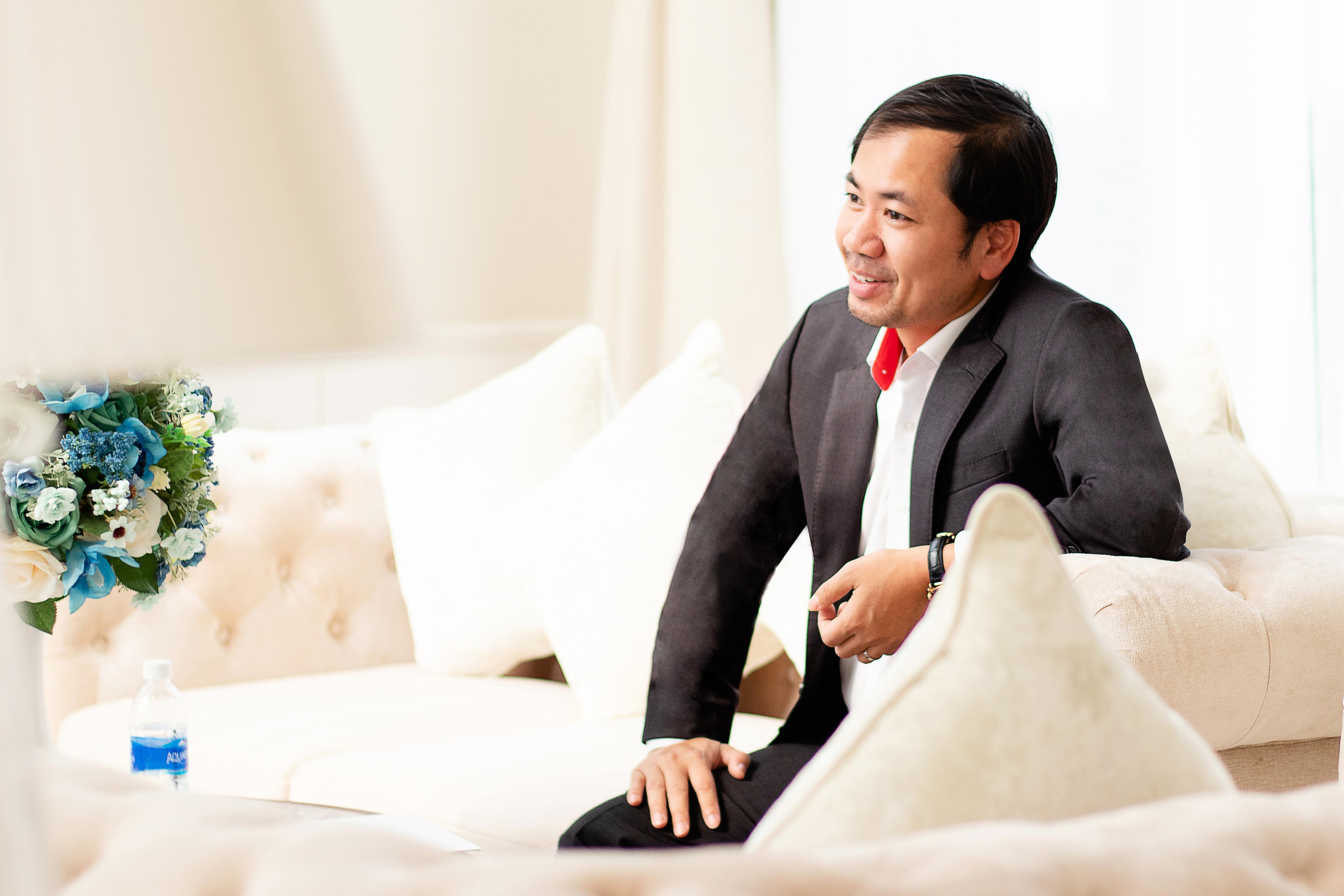 Tổng giám đốc Công ty SCC - Ông Trần Việt Anh